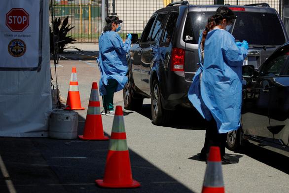 Bang California phá kỷ lục về số ca nhiễm COVID-19 mới tại Mỹ - Ảnh 1.