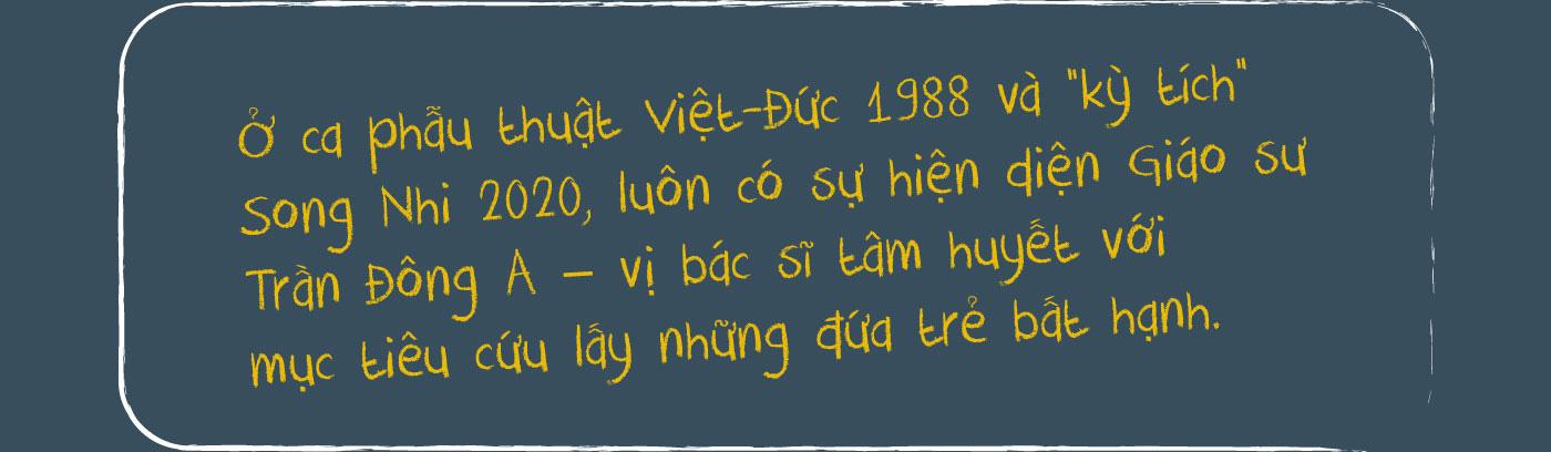 Từ kỳ tích Việt - Đức, Song Nhi đến ước mơ trẻ em ở đâu cũng được chăm sóc tốt nhất - Ảnh 1.