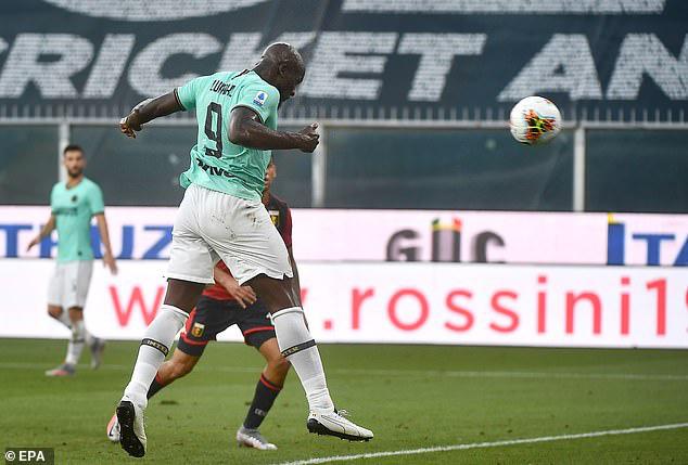 Genoa 0-3 Inter Milan: Lukaku lập cú đúp, Inter vươn lên vị trí thứ 2 - Ảnh 2.