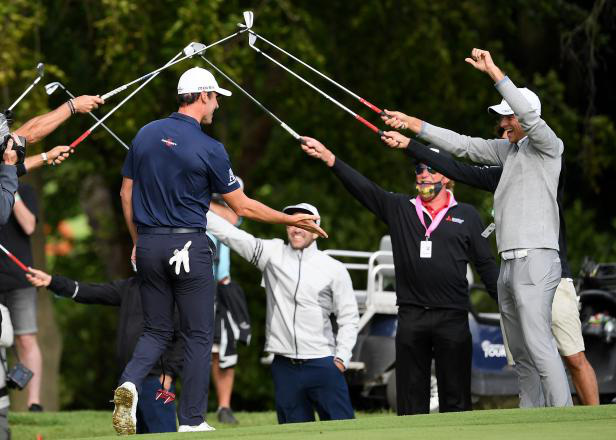 Renato Paratore vô địch giải golf British Masters 2020 - Ảnh 3.