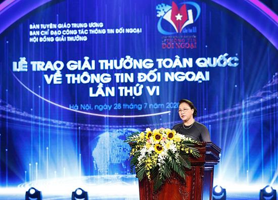 VTV giành 04 Giải thưởng toàn quốc về thông tin đối ngoại lần thứ VI - Ảnh 1.