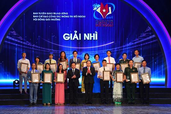 VTV giành 04 Giải thưởng toàn quốc về thông tin đối ngoại lần thứ VI - Ảnh 2.