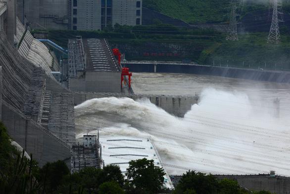 Đập Tam Hiệp (Trung Quốc) sẽ đón một trận lũ mới do mưa lớn - Ảnh 1.