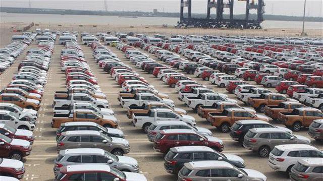 Xe ô tô nhập khẩu giảm mạnh trong tháng 6 - ảnh 1