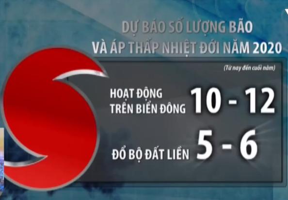 Năm 2020, Việt Nam sẽ hứng chịu 10-12 cơn bão, tập trung vào cuối năm - Ảnh 1.