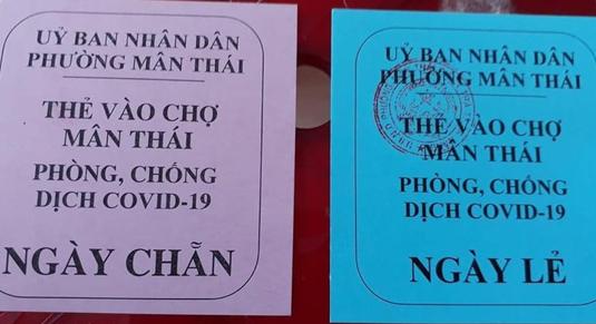 Người dân Đà Nẵng sẽ đi chợ theo ngày chẵn lẻ từ 12/8 - Ảnh 1.
