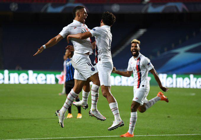 Kết quả Atalanta 1-2 PSG: Ngược dòng kịch tính, Neymar và đồng đội vào bán kết Champions League - Ảnh 1.