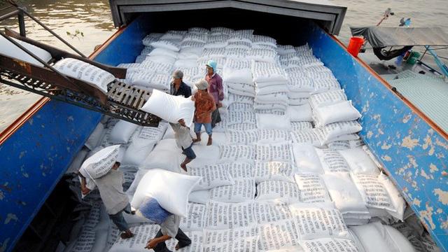 Giá gạo xuất khẩu Việt Nam vươn lên dẫn đầu thế giới - Ảnh 1.