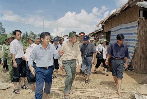 Cố Tổng Bí thư Lê Khả Phiêu là vị lãnh đạo tâm huyết, đóng góp nhiều cho đất nước - Ảnh 2.