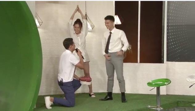Thanh Sơn bắt trend cầu hôn Huỳnh Anh tại tháp Eiffel - Ảnh 3.
