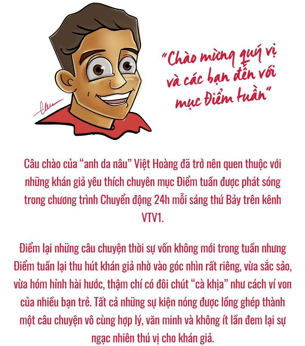 """Gặp BTV Việt Hoàng – """"Anh da nâu"""" của Chuyển động 24h - Ảnh 1."""