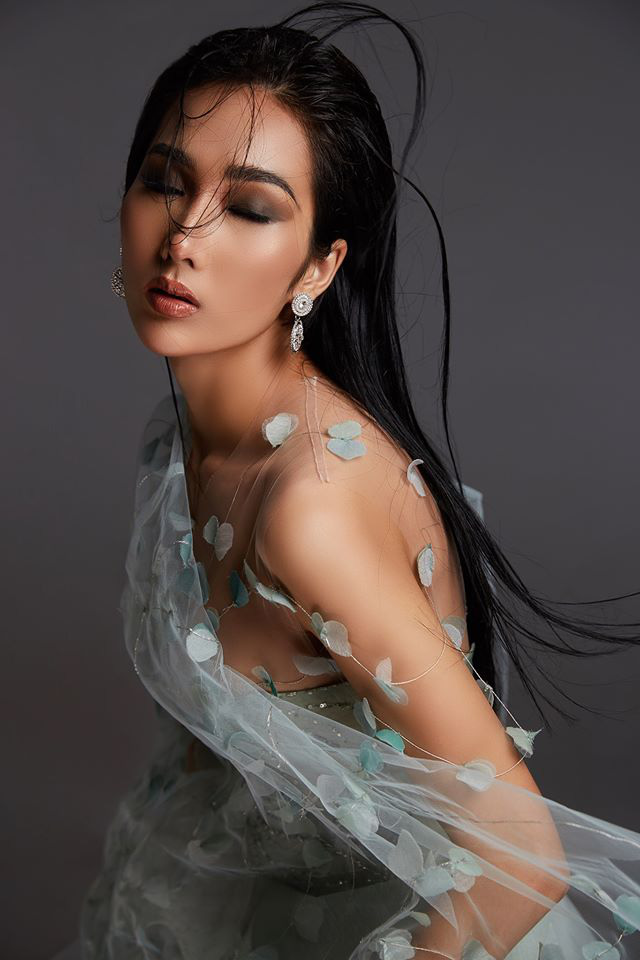 Bản sao Hoàng Thùy dự thi Hoa hậu Việt Nam 2020 - Ảnh 12.