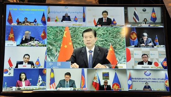 Hội nghị tham vấn trực tuyến về hợp tác kinh tế giữa ASEAN+3 thống nhất nhiều nội dung quan trọng - Ảnh 2.