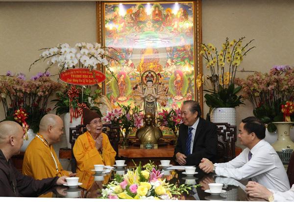 Phó Thủ tướng Trương Hòa Bình chúc mừng Lễ Vu lan - Ảnh 2.
