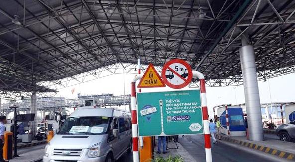 Từ 11/8, chính thức thu phí không dừng tại cao tốc Hà Nội - Hải Phòng - Ảnh 1.