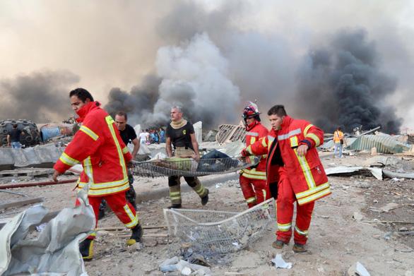 Một công dân Việt Nam bị thương trong vụ nổ kinh hoàng ở Lebanon - Ảnh 2.