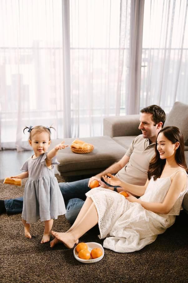 Lan Phương khoe ảnh gia đình hạnh phúc, cuộc sống hôn nhân viên mãn - Ảnh 5.