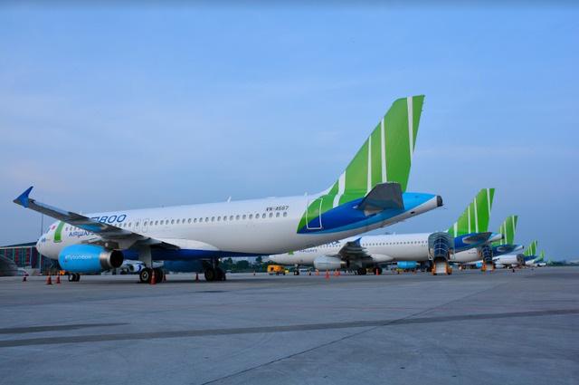 Bamboo Airways dẫn đầu tỷ lệ bay đúng giờ trong 7 tháng đầu năm - ảnh 1