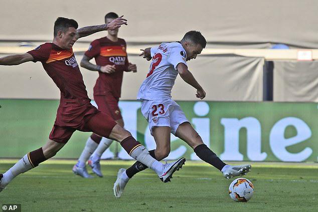 Loại Roma, Sevilla hiên ngang tiến vào tứ kết Europa League - Ảnh 1.