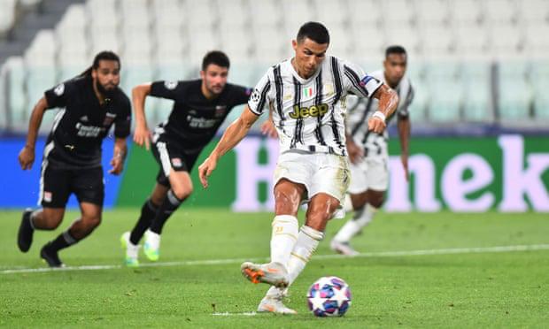 Ronaldo lập cú đúp, Juventus vẫn bị loại khỏi Champions League - Ảnh 2.