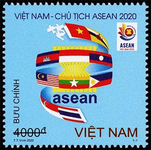 """Phát hành bộ tem """"Việt Nam Chào mừng năm ASEAN"""" - Ảnh 1."""