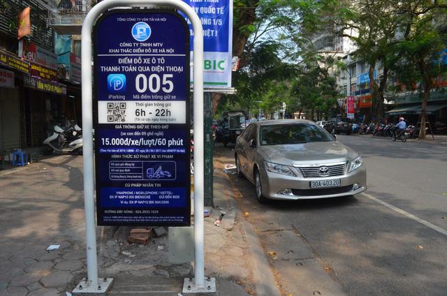 Vì sao Hà Nội tạm dừng thí điểm trông giữ xe qua ứng dụng di động iParking? - Ảnh 1.