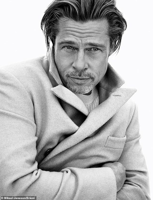 Brad Pitt vẫn lịch lãm và phong độ dù đã U60 - Ảnh 4.