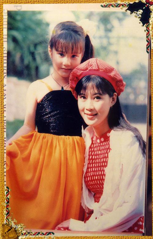Loạt ảnh Diễm My 9x thời bé đóng phim chung với nhiều diễn viên nổi tiếng - ảnh 3