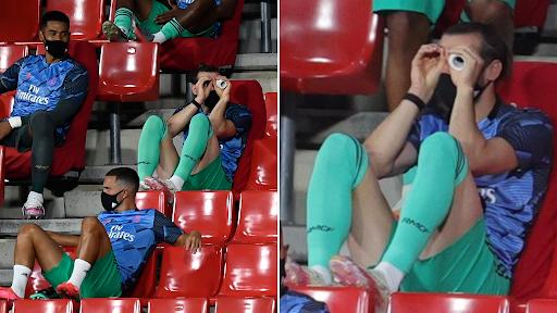 HLV Mourinho không hài lòng với Bale - Ảnh 3.