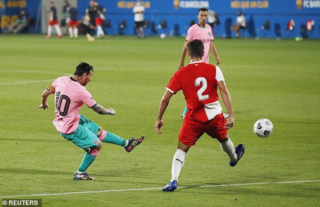 Messi lập cú đúp trong trận giao hữu thứ 2 của Barcelona - Ảnh 3.