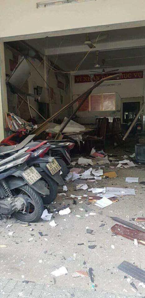 """Xét xử các bị cáo khủng bố """"Triều đại Việt"""" gây nổ trụ sở Cơ quan Công an - Ảnh 1."""
