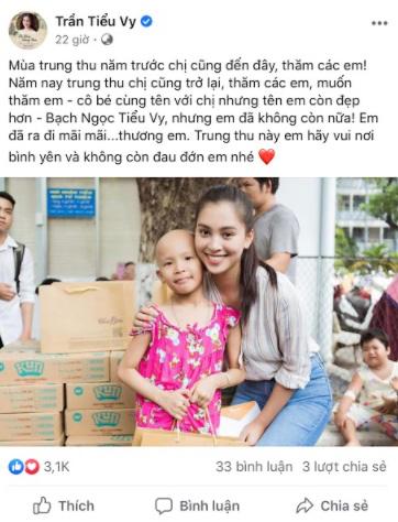 Dàn Hoa hậu, Á hậu tặng quà Trung thu cho các bệnh nhi - Ảnh 2.