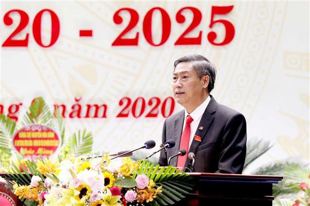 Ông Nguyễn Hữu Đông tái cử chức Bí thư Tỉnh ủy Sơn La - Ảnh 1.