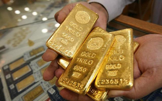 Giá vàng tuột mốc 56 triệu đồng/lượng - ảnh 1