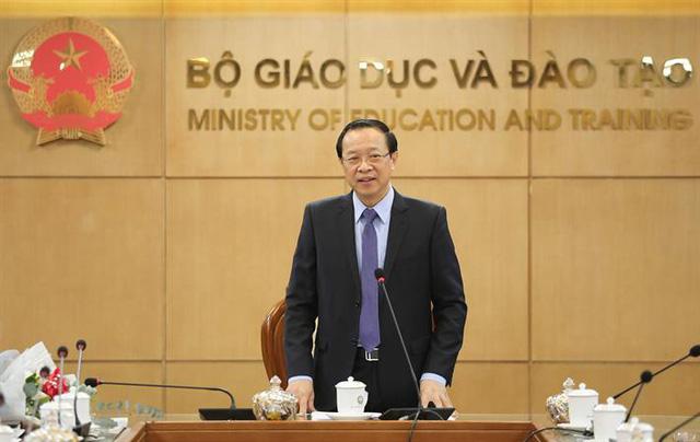 Bộ Giáo dục và Đào tạo phân công lại nhiệm vụ Bộ trưởng và các Thứ trưởng - Ảnh 4.