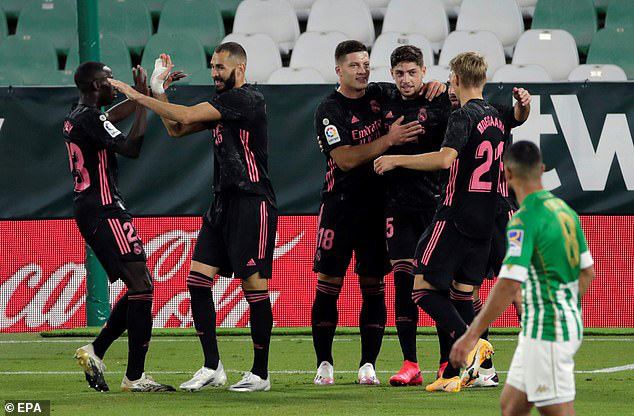 Real Betis 2-3 Real Madrid: Chiến thắng kịch tính - Ảnh 1.