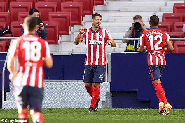 Atletico Madrid 6-1 Granada: Màn ra mắt hoàn hảo của Luis Suarez - Ảnh 3.