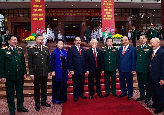 Khai mạc Đại hội đại biểu Đảng bộ Quân đội lần thứ XI, nhiệm kỳ 2020-2025 - ảnh 1