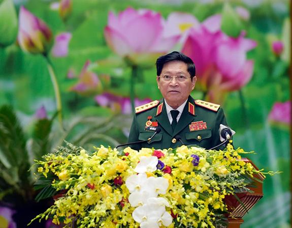 Khai mạc Đại hội đại biểu Đảng bộ Quân đội lần thứ XI, nhiệm kỳ 2020-2025 - ảnh 3