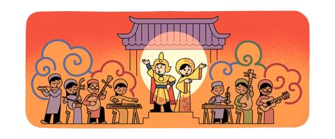 Google tôn vinh nghệ thuật cải lương Việt Nam - Ảnh 1.