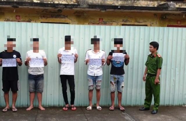 Nhóm đối tượng tuổi teen gây 10 vụ cướp liên tỉnh bị sa lưới - Ảnh 1.