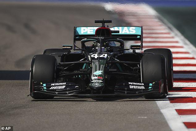 Vì sao Lewis Hamilton bị phạt 10 giây tại GP Nga? - Ảnh 3.