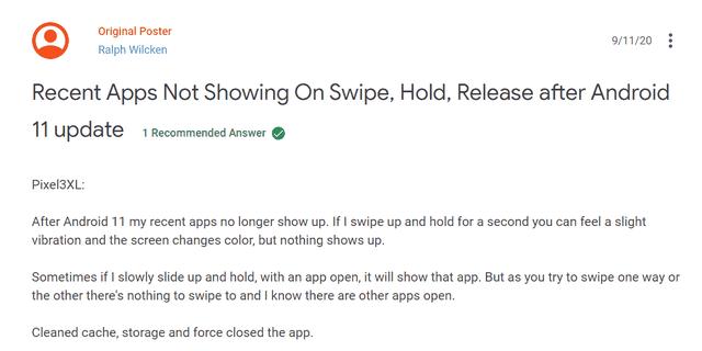 Android 11 gặp nhiều lỗi nghiêm trọng gây văng app, màn hình nhấp nháy - Ảnh 1.