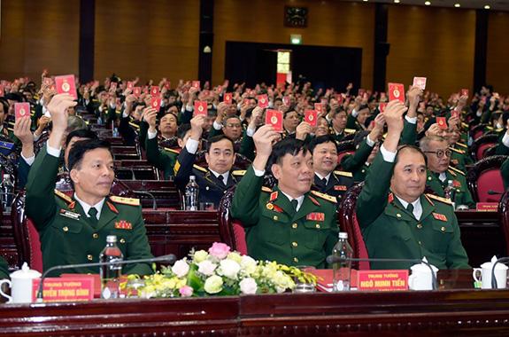 Đại hội đại biểu Đảng bộ Quân đội lần thứ XI thành công tốt đẹp - Ảnh 5.