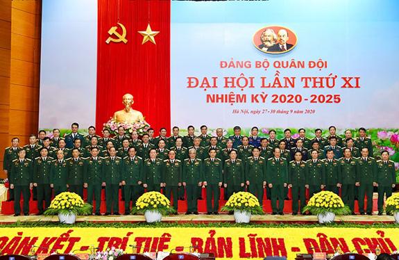 Đại hội đại biểu Đảng bộ Quân đội lần thứ XI thành công tốt đẹp - Ảnh 2.