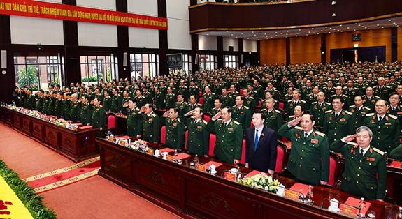 Đại hội đại biểu Đảng bộ Quân đội lần thứ XI thành công tốt đẹp - Ảnh 7.