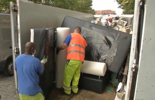Điện từ rác cồng kềnh ở Brussels (Bỉ) đủ cho 65.000 hộ gia đình dùng trong 1 năm - Ảnh 1.
