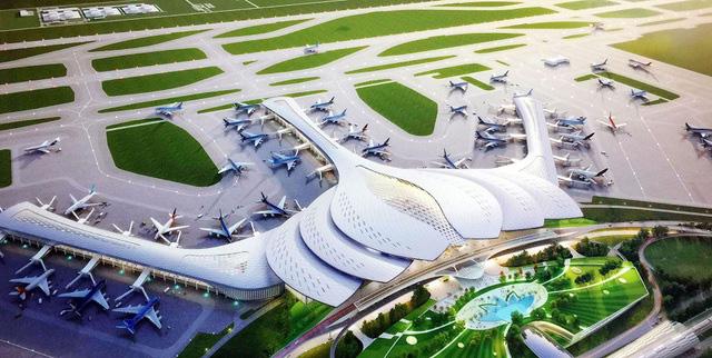 """Sân bay Long Thành: Kỳ vọng kéo kinh tế """"cất cánh"""" - Ảnh 1."""
