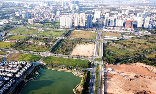 Giá đất ngoại thành Hà Nội tăng cao chóng mặt - ảnh 1