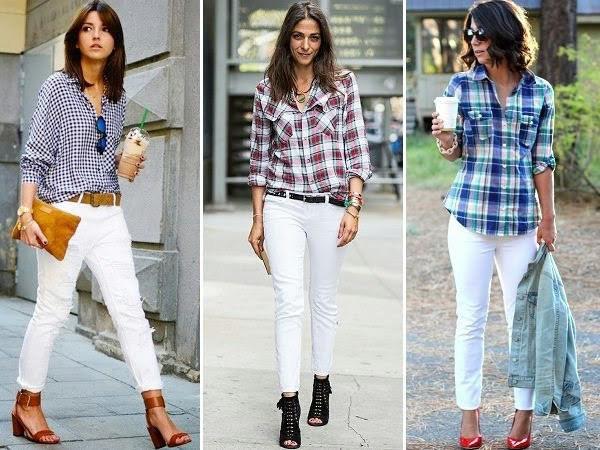Muôn kiểu biến hóa thời trang chỉ với quần jeans trắng - ảnh 6